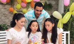 Vợ chồng Quyền Linh tổ chức sinh nhật vui vẻ cho con gái