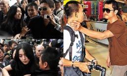 Sao Hoa ngữ 'vũ phu, côn đồ' với paparazzi không kém sao quốc tế