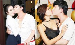 Hết hôn má Lý Nhã Kỳ, Nathan Lee lại 'khóa môi' Phương Mai trong tiệc sinh nhật