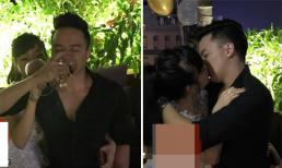 Từng tuyên bố đã cưới vợ, Cao Thái Sơn vẫn thoải mái hôn gái trong bar