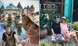 Vợ chồng nam diễn viên 'Thiên long bát bộ' khoe ảnh du lịch Đà Nẵng