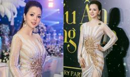 Á hậu Ruby Anh Phạm như tuyệt sắc mỹ nhân trên thảm đỏ 'Dạ tiệc hoàng kim'