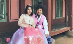 """Vợ chồng chàng Phong """"Tuổi thanh xuân"""" đi hâm nóng tình cảm tại Hàn Quốc"""