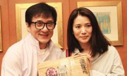 'Cạch mặt' 22 năm nhưng giờ Thành Long lại bất ngờ thân thiết với Hoa hậu Hồng Kông