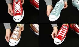 Mẹo hay: 6 cách buộc dây giày độc lạ thể hiện bạn là dân sành điệu chính hiệu