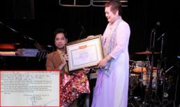 Ngọc Sơn tự xưng là 'giáo sư âm nhạc' khi viết đơn vào hội nghệ nhân