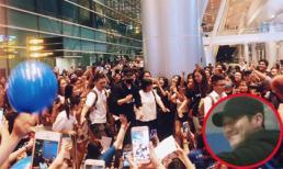 Đến sân bay Đà Nẵng trong đêm, Siwon (Super Junior) vẫn được fans vây kín
