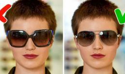 Cách lựa chọn kính mát phù hợp với khuôn mặt