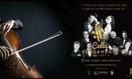 """Hòa nhạc """"CELLO Fundamento concert II"""" tổ chức họp báo  với sự tham gia của chín nghệ sĩ nhạc cổ điển quốc tế"""