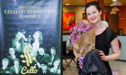 Amalia May Hall - Nghệ sĩ Violin đã có mặt tại Hà Nội sẵn sàng cho đêm nhạc Cello Fundamento