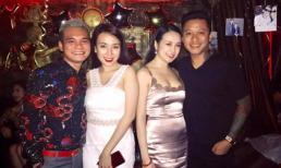 Sao Việt vui vẻ tham dự tiệc sinh nhật của ca sĩ Khắc Việt