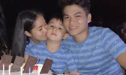 Lê Phương và chồng mới tổ chức sinh nhật cho con trai Cà Pháo