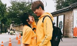 Hòa Minzy tình tứ với trai lạ ở Hàn Quốc