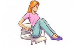 6 bài tập để bụng phẳng lì mà chỉ cần ngồi tại ghế văn phòng