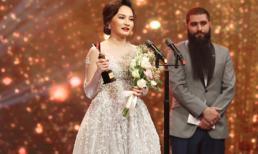 Bảo Thanh chiến thắng giải Nữ diễn viên ấn tượng tại 'VTV Awards 2017'