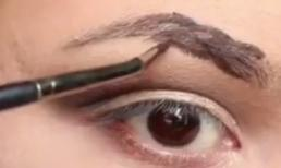 Học cách vẽ lông mày bện cực đơn giản