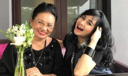 Loạt ảnh tình cảm của Diva Thanh Lam bên mẹ ruột