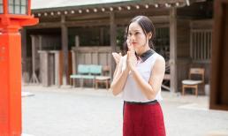 Lan Phương mê mẩn trước vẻ đẹp thiên thiên của hòn đảo Oshima