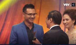 Chia sẻ xúc động của Đan Lê về khoảnh khắc bố chồng luống cuống trên sân khấu VTV Awards