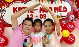 Ca sĩ Hoàng Bách dành cho con gái lời nói 'quý hơn vàng' trong ngày sinh nhật