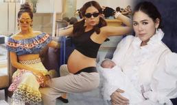 Thói quen giúp mỹ nhân Thái Chompoo Araya giữ được vóc dáng đẹp trong lúc mang bầu