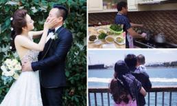 Chưa nói đến độ giàu có, chồng Vy Oanh vẫn khiến bao chị em ao ước vì những hành động 'soái ca'