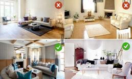 16 lỗi sai khi thiết kế nội thất phòng khách mà 90% ai cũng mắc phải