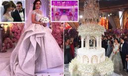 Choáng ngợp trước đám cưới xa hoa bậc nhất của con trai ông trùm bất động sản Nga