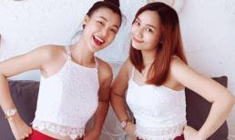 Hé lộ chân dung cô em gái xinh đẹp ít biết của Á hậu Hoàng Oanh