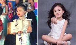 Nhan sắc xinh đẹp như 'thiên thần' của bé gái Việt được nhận danh hiệu 'Công chúa châu Á'