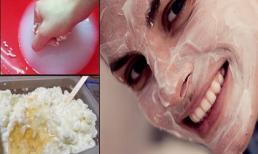 Thực hiện 1 lần 1 tuần, mặt nạ tự chế 'rẻ như cho' này sẽ trẻ hóa khuôn mặt bạn đến 10 tuổi