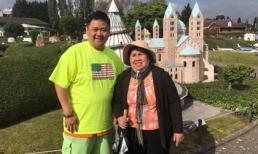Minh Béo đi du lịch cùng mẹ tại châu Âu