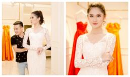 Á hậu Thuỳ Dung thử trang phục, chuẩn chị cho Hoa hậu Quốc tế 2017