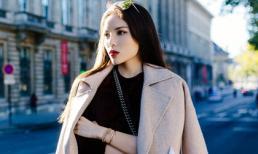 'Lang thang tại Paris', Hoa hậu Kỳ Duyên khoe gout thời trang đẳng cấp