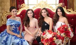 Mỹ nhân Việt đại diện Angel Beauty đón hoa hậu Thái Lan