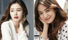 Kim Tae Hee bầu bí vượt mặt vẫn vượt Song Hye Kyo vươn lên làm sao nữ xinh đẹp nhất Hàn Quốc