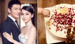 Con trai Huỳnh Hiểu Minh tinh nghịch trong dịp kỷ niệm 2 năm ngày cưới của bố mẹ
