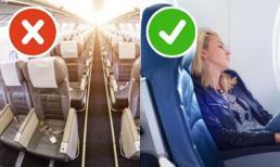 Bỏ túi ngay 9 bí quyết để ngủ ngon trên máy bay