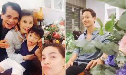 Sau tin đồn cãi vã, Kim Lý vui vẻ đi dự sinh nhật mẹ Hồ Ngọc Hà
