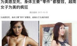 Sau đại phẫu thẩm mỹ, Phi Thanh Vân lên báo Trung cùng dòng tít gây sốc
