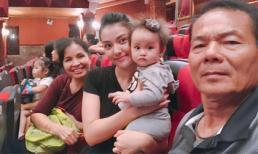 Hồng Quế xúc động tuyên bố chỉ cần con gái và bố mẹ sau tròn 1 năm làm mẹ đơn thân