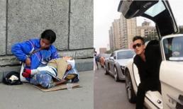 Gặp lại tình cũ 1 tay bế con, 1 tay xin tiền người đi đường và hành động khiến ai cũng cảm phục của chàng trai