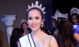 Đại diện Việt Nam đăng quang Á hậu 1 Miss Tourism Universe 2017