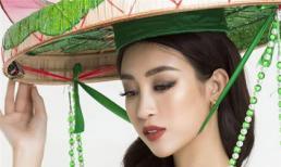 Cận cảnh bộ trang phục giúp Mỹ Linh tỏa sáng trong phần thi Traditional