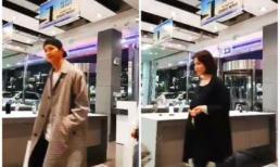 Song Hye Kyo lộ thân hình mũm mĩm khi đi mua sắm cùng Song Joong Ki