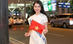 Thùy Dung mang 140kg hành lý sang Nhật dự thi Miss International