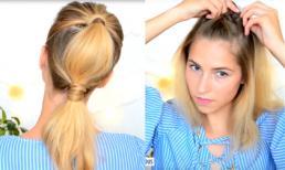 Mười cách tạo kiểu tóc đẹp và cực dễ làm dành cho cô nàng bận rộn