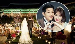 Song Joong Ki - Song Hye Kyo cân nhắc việc tung ảnh cưới, lo ngại hôn lễ sẽ trở nên hỗn loạn