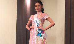 """Thuỳ Dung khiến fans lo lắng vì bỗng dưng """"mất tích"""" ở Miss International"""