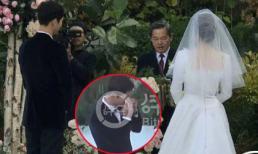 Đây là nguyên nhân khiến Song Joong Ki khóc trong hôn lễ